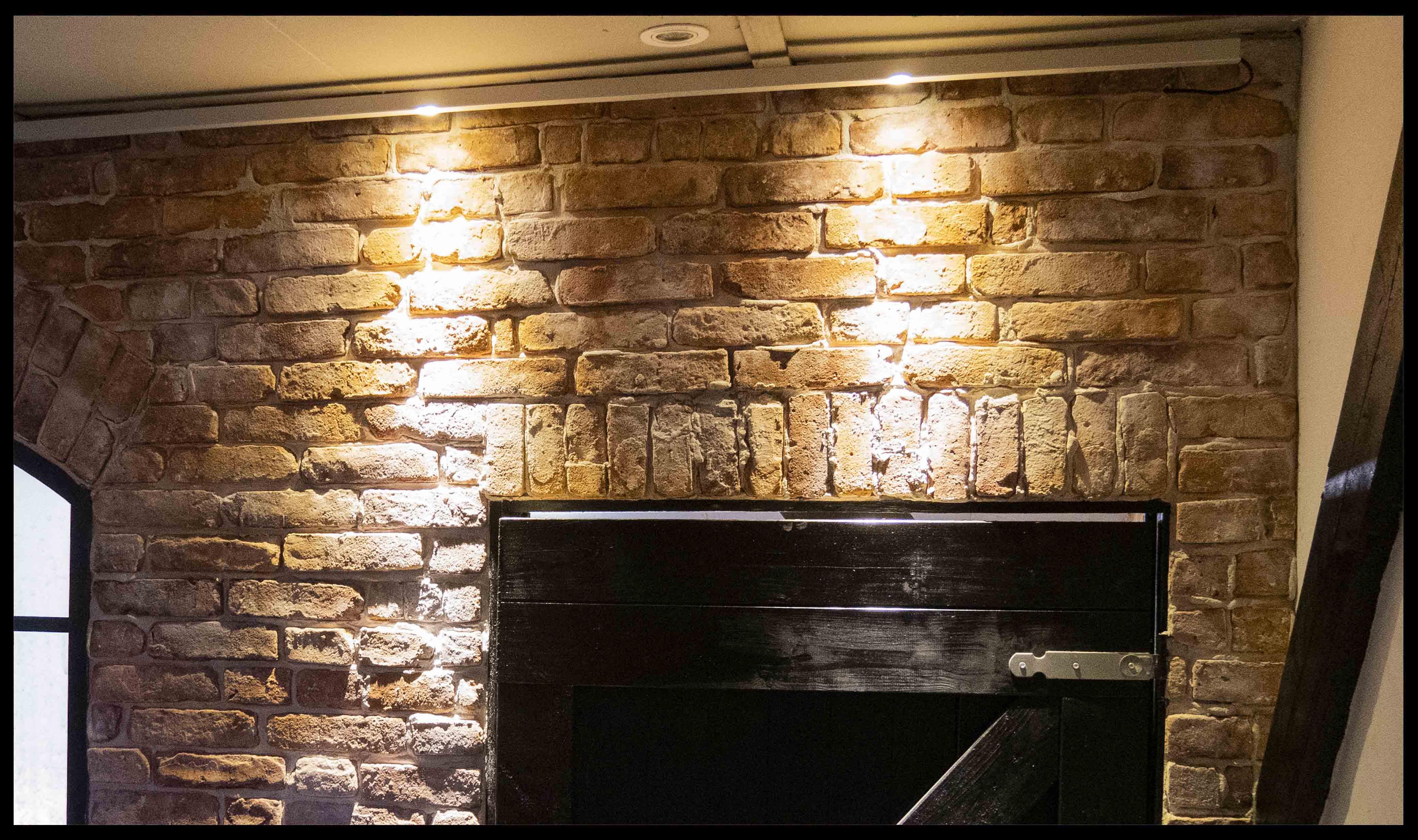 Afgebikte baksteen door StonePress, Geen baksteen steenstrips, geen baksteen behang en geen betonlook