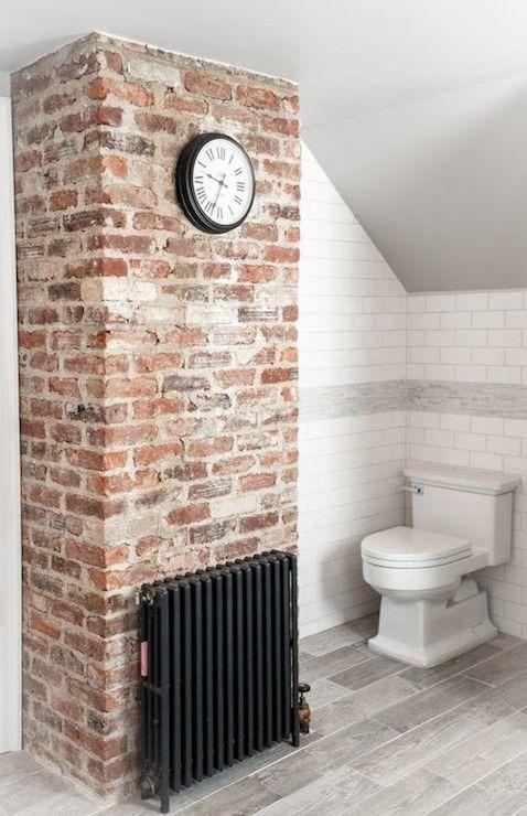 Industrieel baksteen look door stonepress steenstrips realiseert prachtig interieur